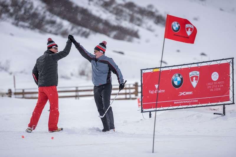 BMW Val d'Isère Winter Golf Cup